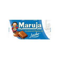 CHOCOLAT MARUJA AU LAIT ET NOISETTE 100G