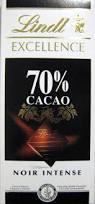 CHOCOLAT LINDT NOIR INTENSE 100G