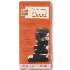 CHOCOLAT DESSERT CORSE BELLE FRANCE 200G